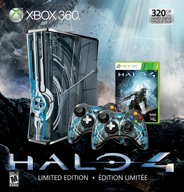 Halo 4 Xbox 360 And Accessories Revealed at SDCC | Gamer Living